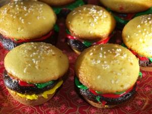 CheeseBurger Cupcakes!